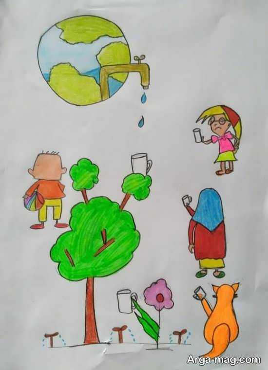 مدل زیبا نقاشی و طراحی برای نوجوانان