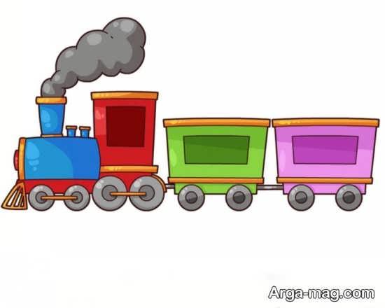 خاص ترین نقاشی و رنگ آمیزی قطار