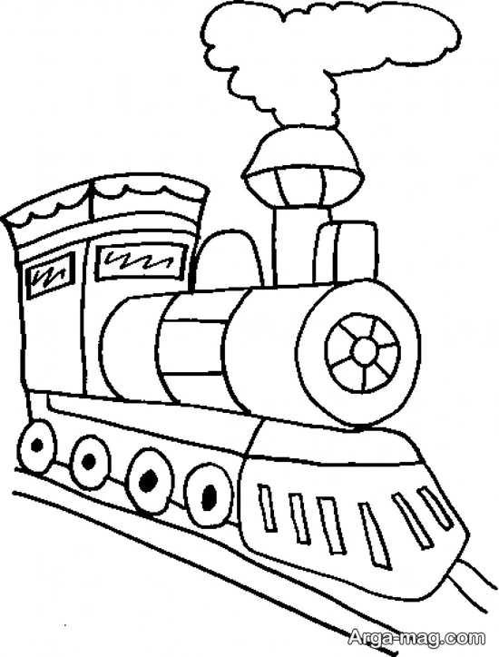 مجموعه باحال از نقاشی و رنگ آمیزی قطار