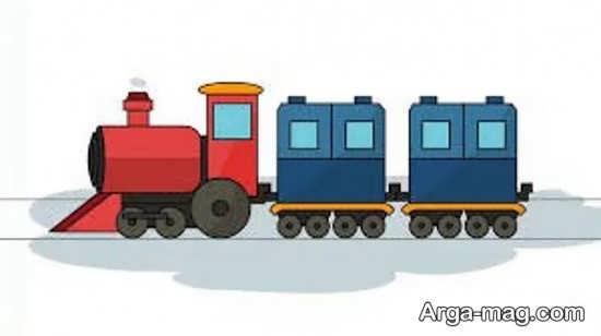 نقاشی و رنگ آمیزی قطار