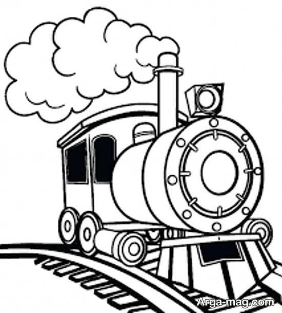 نقاشی و رنگ آمیزی جدید قطار