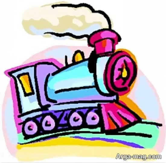 جدیدترین نقاشی و رنگ آمیزی قطار