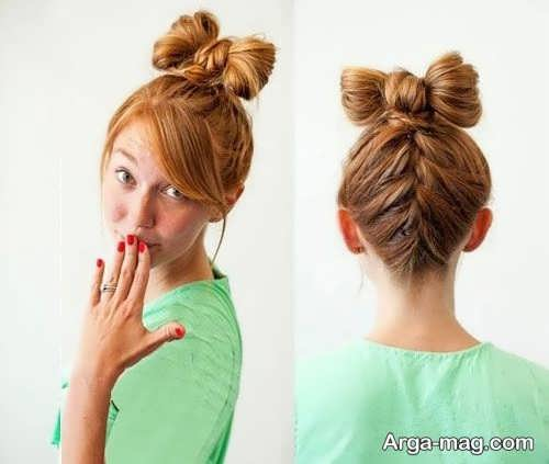 مدل بافت موی پاپیونی