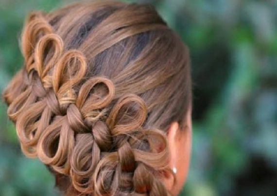 بافت مو پاپیونی