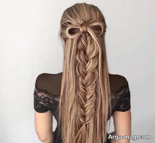 مدل بافت مو