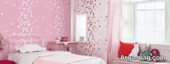 ایده های ناب و هنرمندانه دیزاین اتاق خواب صورتی