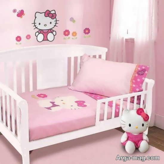 دکوراسیون اتاق خواب زیبا و ایده آل کودکانه