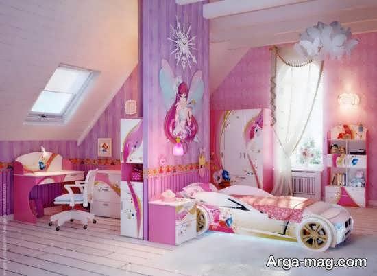 متنوع ترین و جدیدترین ایده های اتاق خواب صورتی