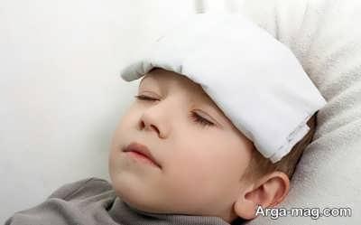 استفاده از آب سرد به منظور درمان تب بالا