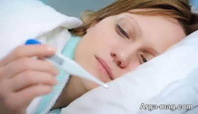 درمان تب با روش های خانگی