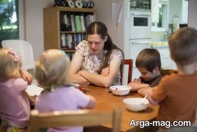 کاهش تنش در خانواده