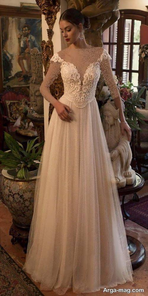 پیراهن عروسی رومی