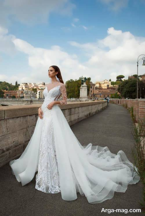 مدل لباس عروس رومی شیک