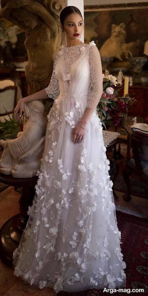 پیراهن عروس رومی