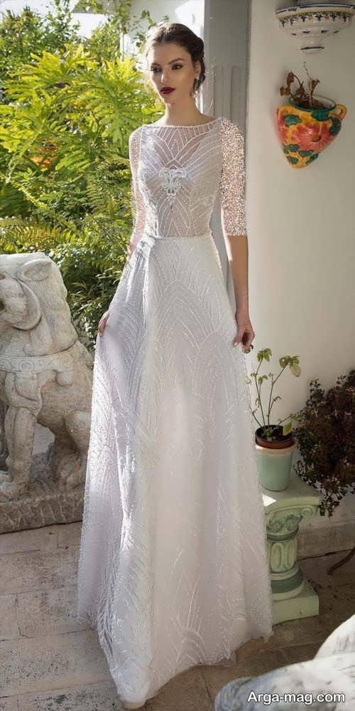 مدل پیراهن عروس رومی
