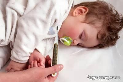 تشنج در نوزادان و کودکان