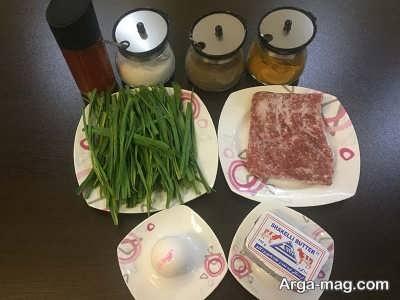 مواد لازم برای تهیه سیر واویج