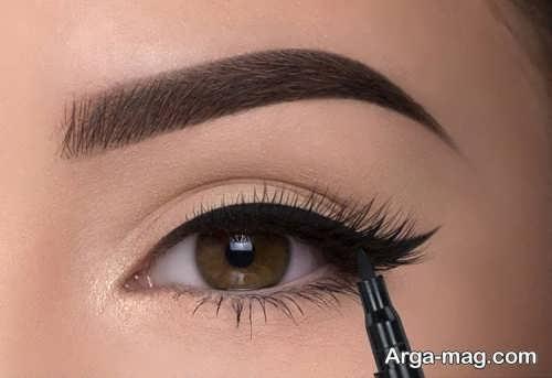آرایش زیبا چشم زنانه