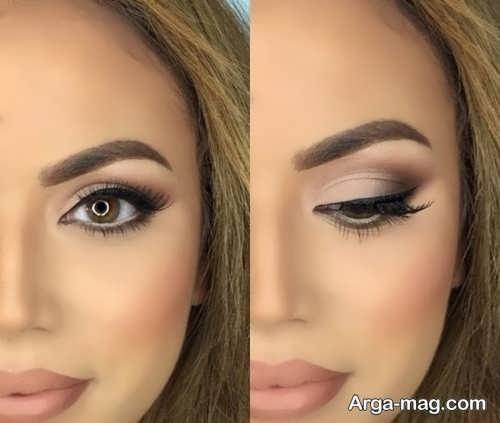 آرایش چشم ساده زنانه
