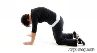 نیرومند ساختن عضلات کمر