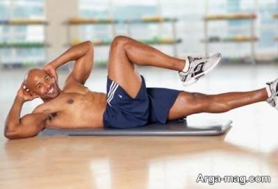 تقویت عضلات شکم با ئرزش