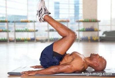 تمرین حرکات تقویتی شکم