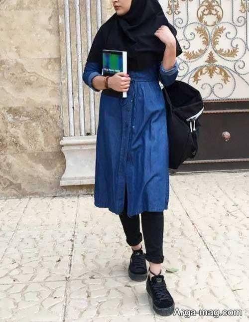 مانتوی دانشجویی