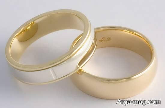 طرح های دوست داشتنی از حلقه عروس و داماد