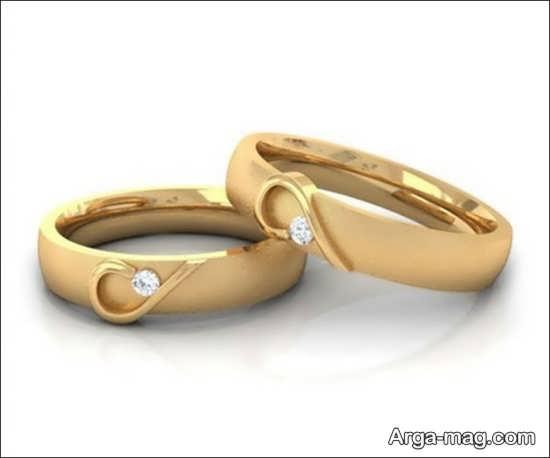 مدل های جدید حلقه عروس و داماد