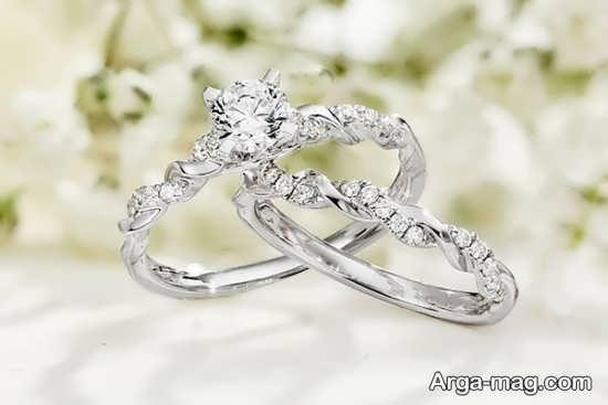 مدل های جالب حلقه عروس و داماد