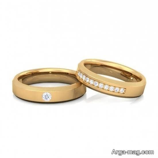 جدیدترین طرح های حلقه عروس و داماد