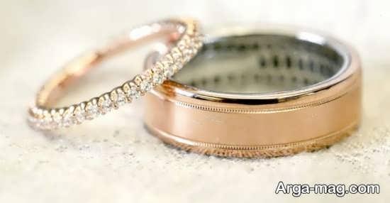 زیباترین طرح های حلقه عروس و داماد