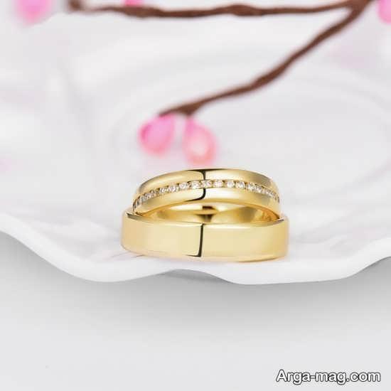 متنوع ترین طرح های حلقه عروس و داماد