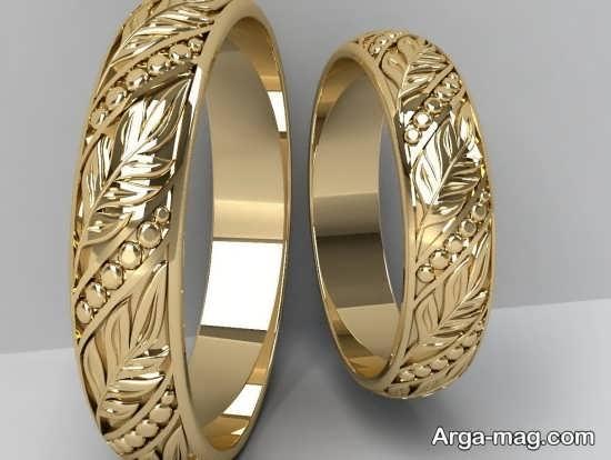 قشنگ ترین طرح های حلقه عروس و داماد
