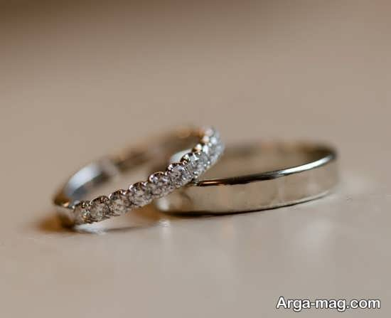 حلقه ست خاص عروس و داماد