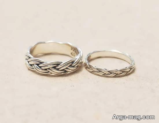 حلقه ست جذاب عروس و داماد