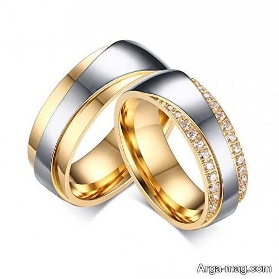 حلقه ست ایده آل عروس و داماد