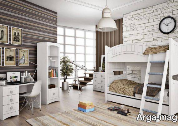 انواع تخت خواب دو طبقه زیبا و راحت