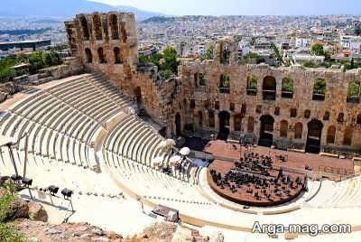 مکان های دیدنی یونان