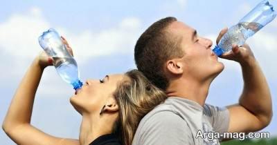 تامین آب مورد نیاز بدن