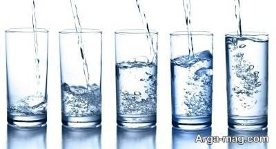 مقدار مصرف آب برای بزرگ سالان