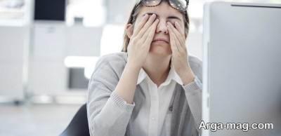 علل و علایم ضعیفی چشم