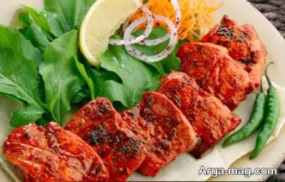 منوی غذایی هندی
