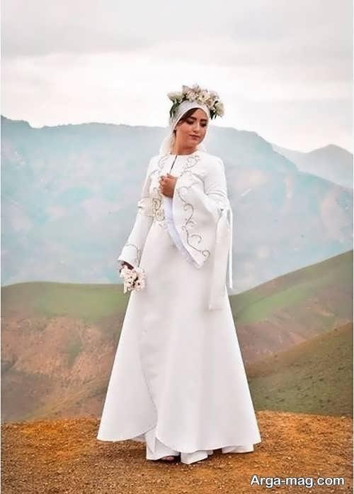 مدل لباس زیبا برای عقد