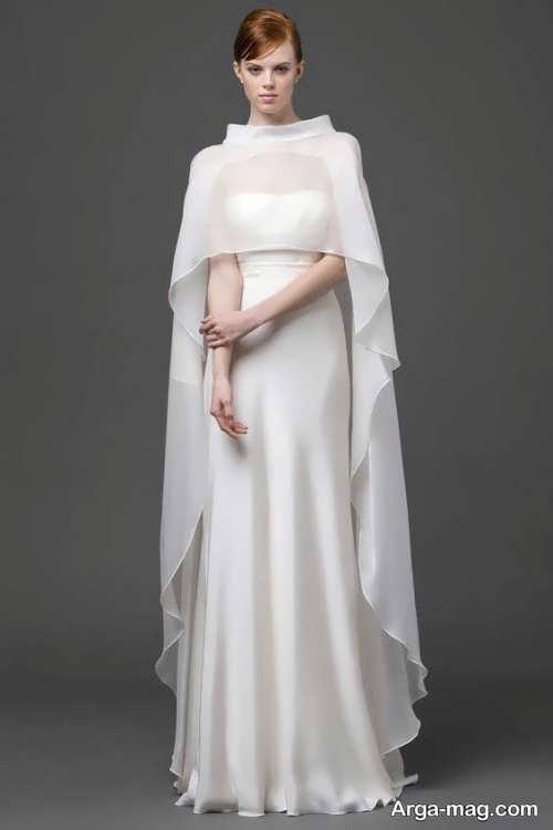 طرح لباس سفید برای عقد محضری