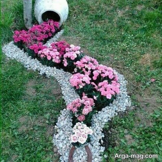 دکوراسیون زیبای حیاط