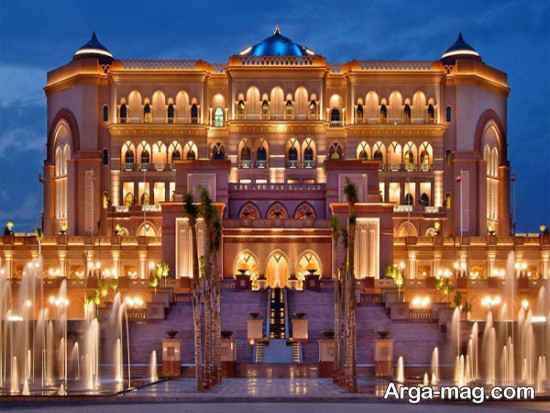 بناهای مدرن ابوظبی