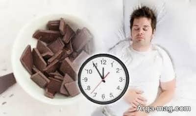 عادت غذایی قبل از خواب