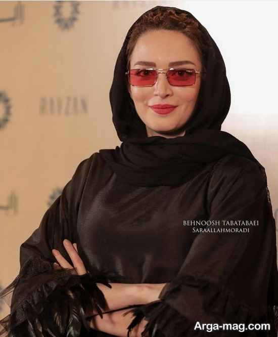 استایل بهنوش طباطبایی در جشنواره عکاسان سینمای ایران