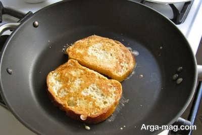 پختن فرنچ تست